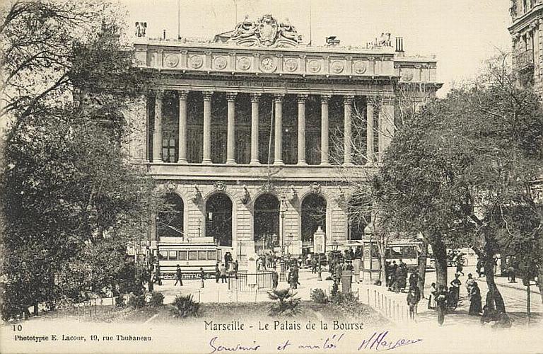 Marseille - Le Palais de la Bourse_0