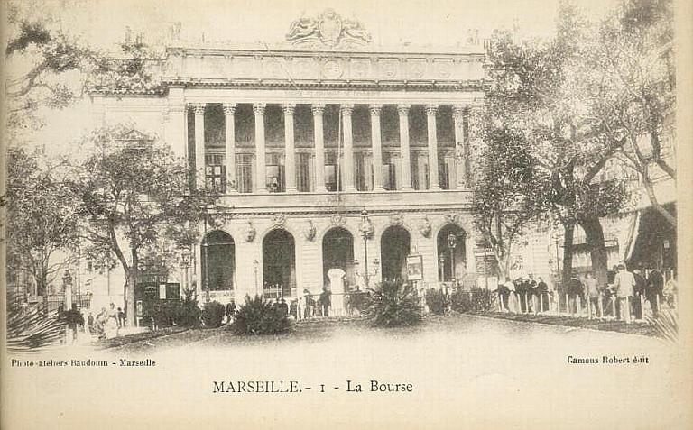 MARSEILLE. - I - La Bourse_0