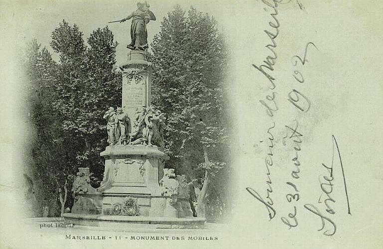 MARSEILLE - 11 - MONUMENT DES MOBILES_0