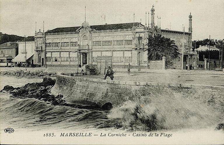 1885. MARSEILLE - La Corniche - Casino de la Plage_0