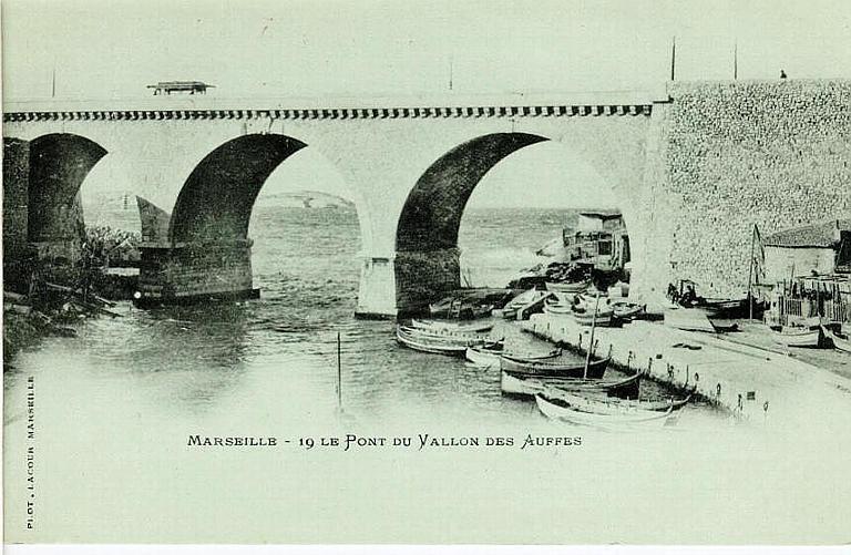 MARSEILLE - 19 LE PONT DU VALLON DES AUFFRES_0