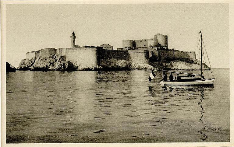 39. MARSEILLE - Le château d'If_0