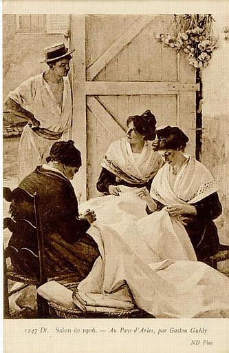 1257 Salon de 1906. - Au Pays d'Arles, par Gaston Guédy_0
