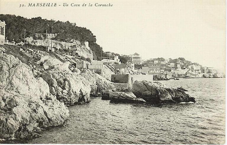 32. MARSEILLE - Un Coin de la Corniche_0