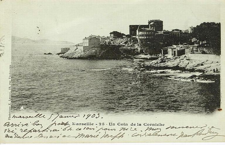 Marseille - 25. Un Coin de la Corniche_0