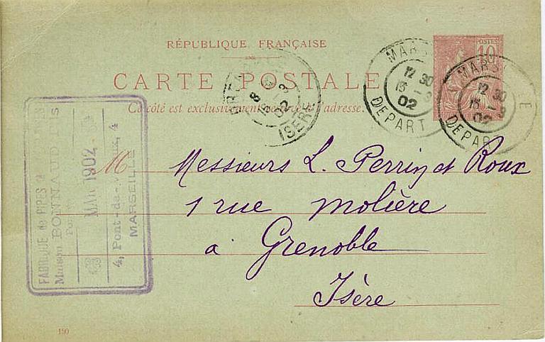 FABRIQUE DE PIPES (illisible) / Maison Bonnaud Fils_0