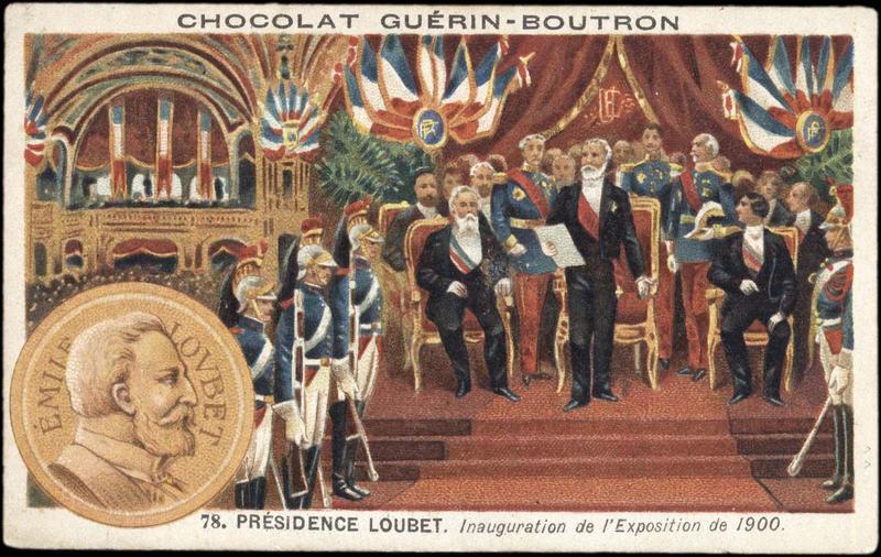 78. PRESIDENCE LOUBET (...) EXPOSITION Universelle de 1900. (titre inscrit)_0