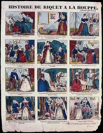 HISTOIRE DE RIQUET A LA HOUPPE. / (Contes des Fées.) (titre inscrit)