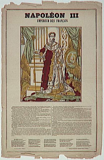 NAPOLEON III / EMPEREUR DES FRANCAIS. (titre inscrit)