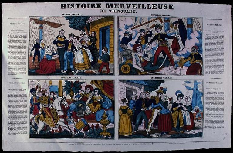 HISTOIRE MERVEILLEUSE / DE TRINQUART. (titre inscrit)