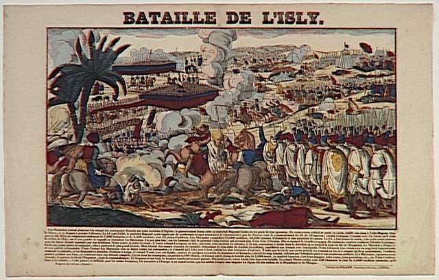 BATAILLE DE L'ISLY. (titre inscrit)