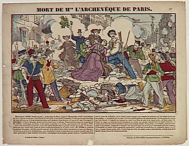 MORT DE MGR L'ARCHEVEQUE DE PARIS (titre inscrit)_0