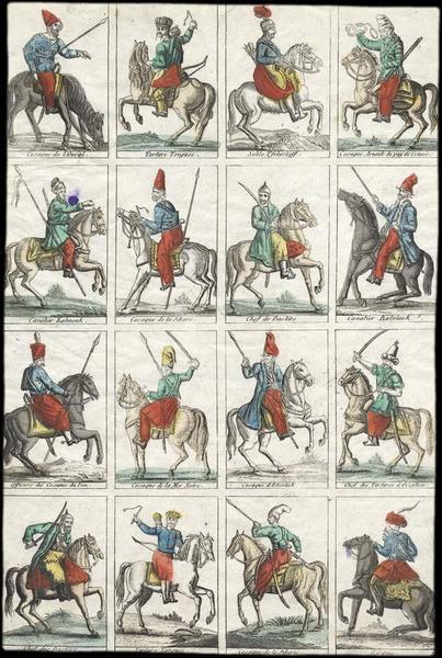 Cavaliers d'Asie centrale (titre factice)