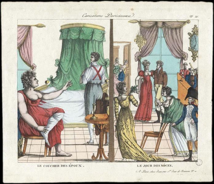 Caricatures parisiennes (titre inscrit)