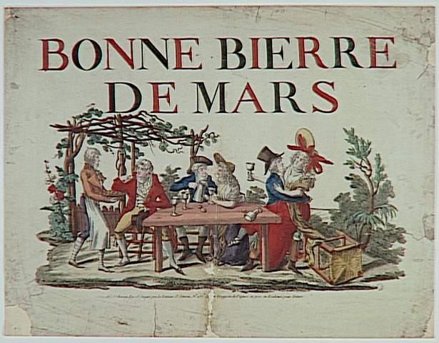 BONNE BIERE DE MARS (titre inscrit)
