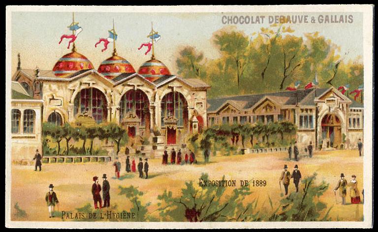 EXPOSITION Universelle DE 1889 / PALAIS DE L'HYGIENE (titre inscrit)_0