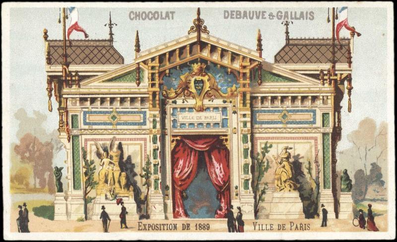 EXPOSITION DE 1889 / VILLE DE PARIS (titre inscrit)