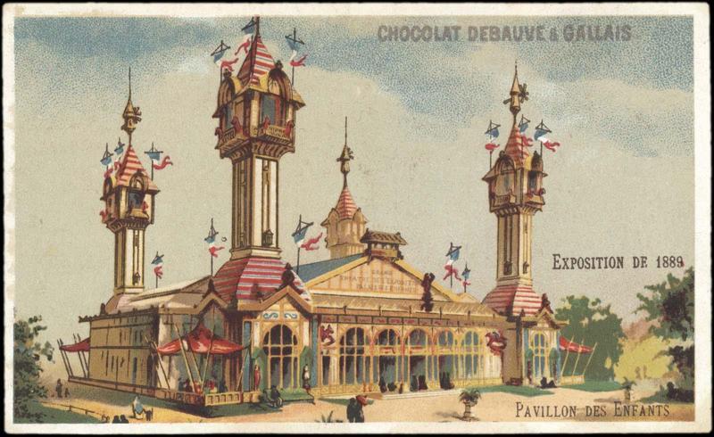 EXPOSITION Universelle DE 1889 / PAVILLON DES ENFANTS (titre inscrit)