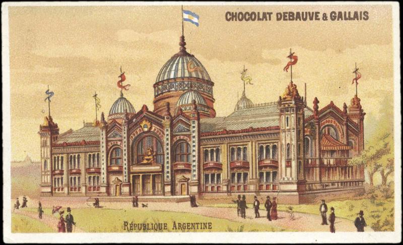 EXPOSITION Universelle DE 1889 / REPUBLIQUE ARGENTINE (titre inscrit)