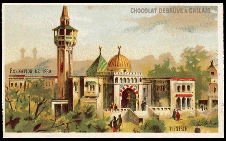 EXPOSITION Universelle DE 1889 / TUNISIE (titre inscrit)