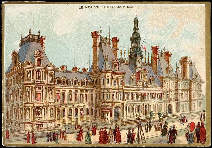 LE NOUVEL HOTEL de VILLE (titre inscrit)