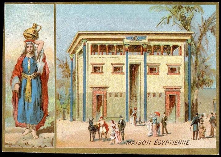 MAISON EGYPTIENNE (titre inscrit)