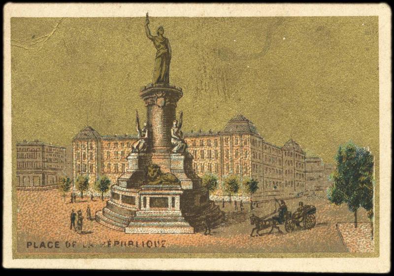 PLACE DE LA REPUBLIQUE (titre inscrit)