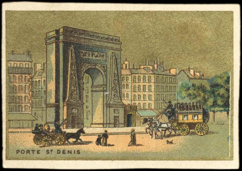 PORTE ST. DENIS (titre inscrit)