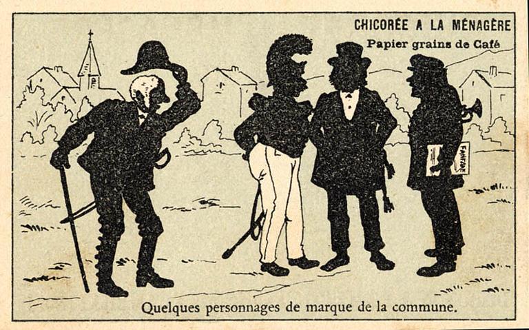 Quelques personnages de marque de la commune. (titre inscrit)