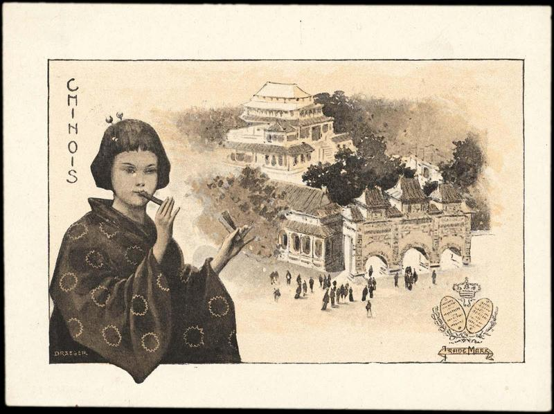CHINOIS (titre inscrit) [exposition universelle de 1900]