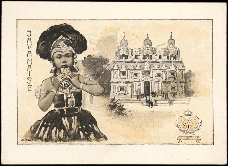 JAVANAISE (titre inscrit) [exposition universelle de 1900]