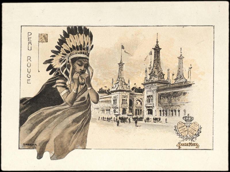 PEAU ROUGE (titre inscrit) [exposition universelle de 1900]