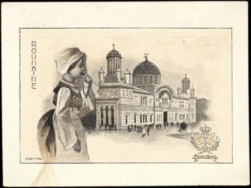 ROUMANIE (titre inscrit) [exposition universelle de 1900]