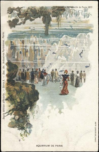 Exposition Universelle de Paris 1900 / AQUARIUM DE PARIS (titre inscrit)