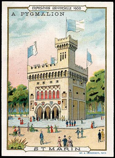 EXPOSITION UNIVERSELLE 1900 / ST. MARIN (titre inscrit)