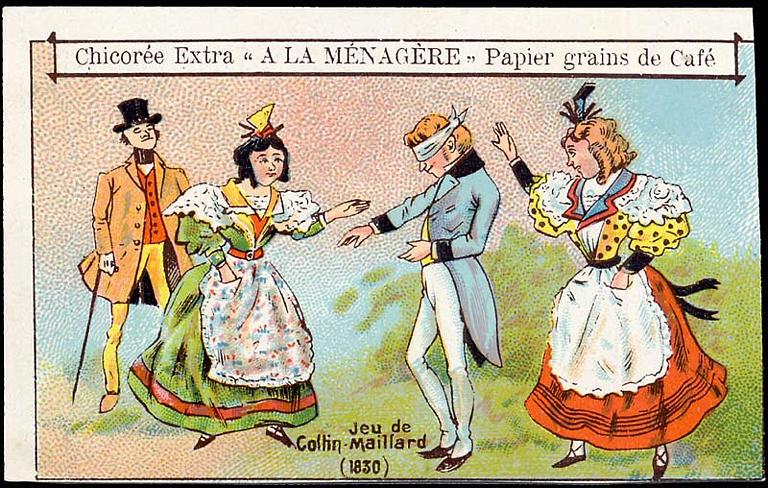 Jeu de / Colin-Maillard / (1830) (titre inscrit)