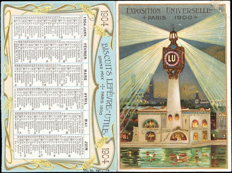 EXPOSITION UNIVERSELLE / PARIS 1900 (titre inscrit)