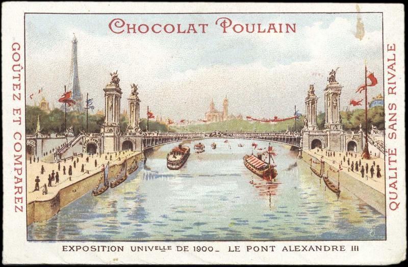 EXPOSITION UNIVERSELLE DE 1900 - LE PONT ALEXANDRE III (titre inscrit)