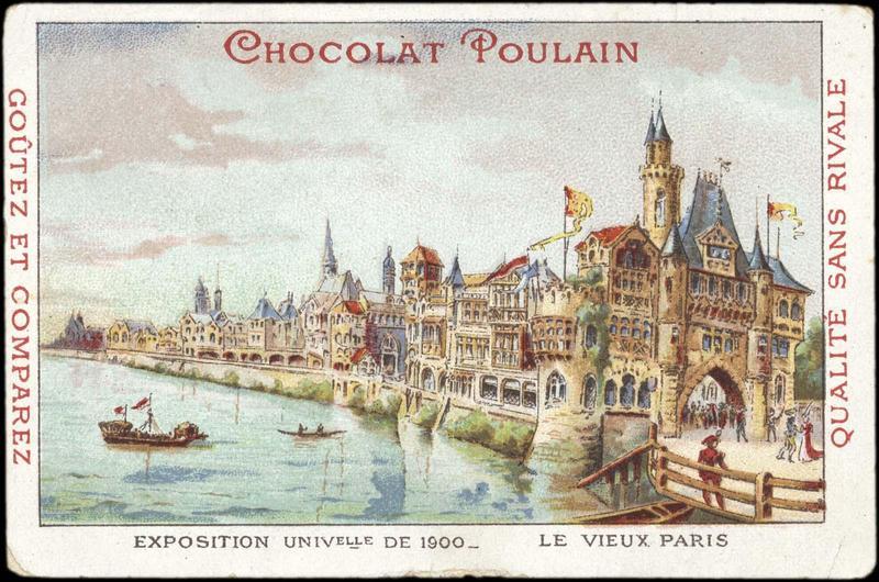 EXPOSITION UNIVERSELLE DE 1900 - LE VIEUX PARIS (titre inscrit)
