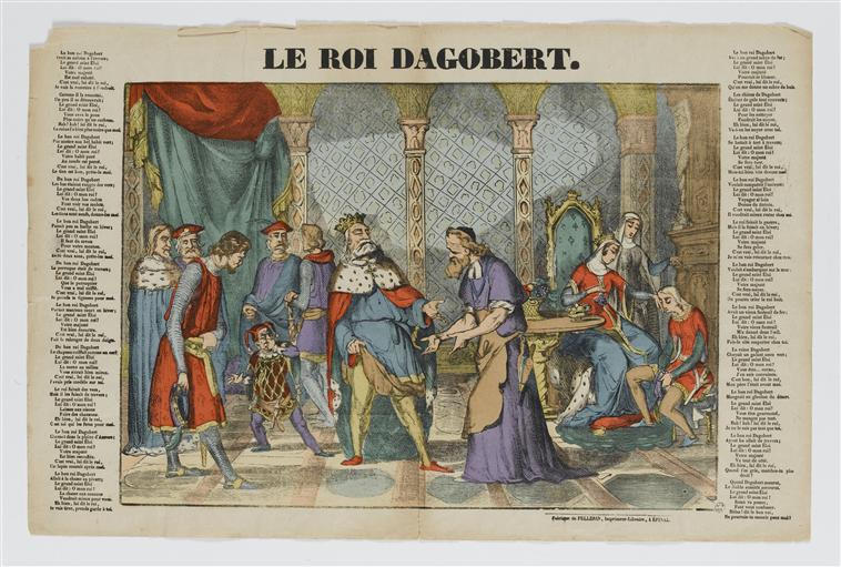 LE ROI DAGOBERT (titre inscrit)