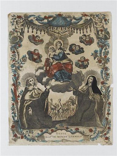 BEATA VIRGO MARIA DE MONTE CARMELO (titre inscrit)