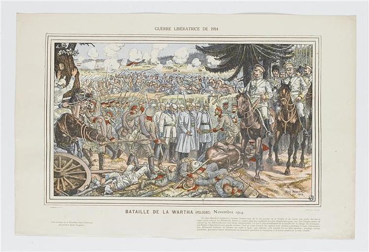 GUERRE LIBERATRICE DE 1914 (titre inscrit)