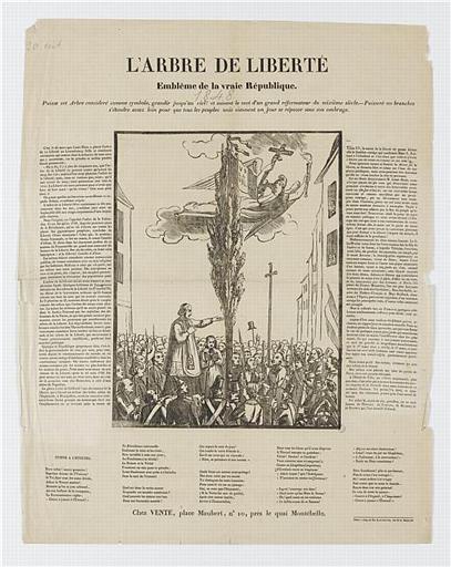 L'ARBRE DE LA LIBERTE (titre inscrit)