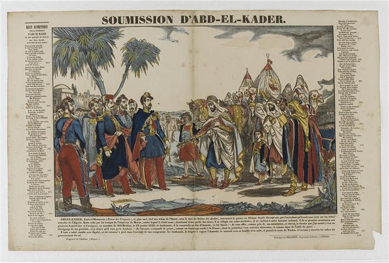 SOUMISSION D'ABD-EL-KADER (titre inscrit)