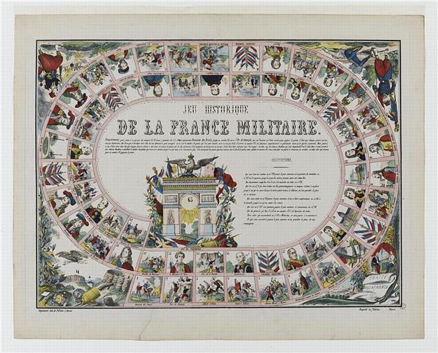 JEU HISTORIQUE/DE LA FRANCE MILITAIRE (titre inscrit)
