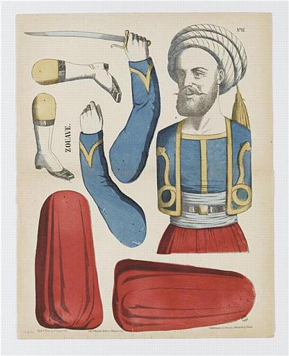 Zouave (titre inscrit)