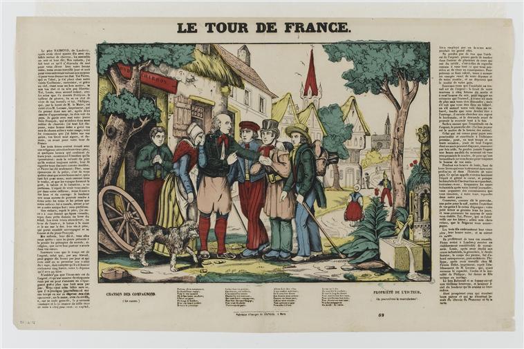 LE TOUR DE FRANCE (titre inscrit)