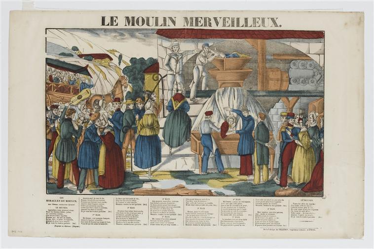 LE MOULIN MERVEILLEUX (titre inscrit)