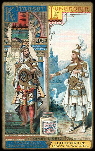 Klingsor, PARSIFAL Opéra de WAGNER / Lohengrin, LOHENGRIN Opéra de WAGNER (titre inscrit)