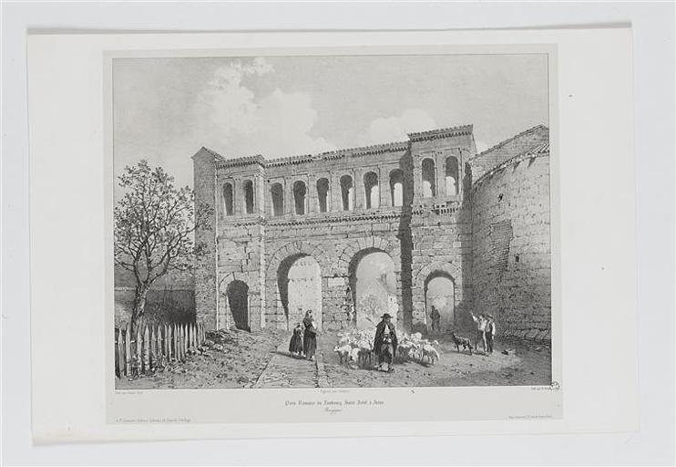 Porte Romaine du Faubourg Saint André, à Autun (titre inscrit)